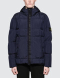 Stone Island Garment Dyed Crinkle Reps Down Jacket Picture
