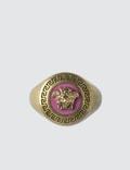 Versace Medusa Medallion Ring Picutre