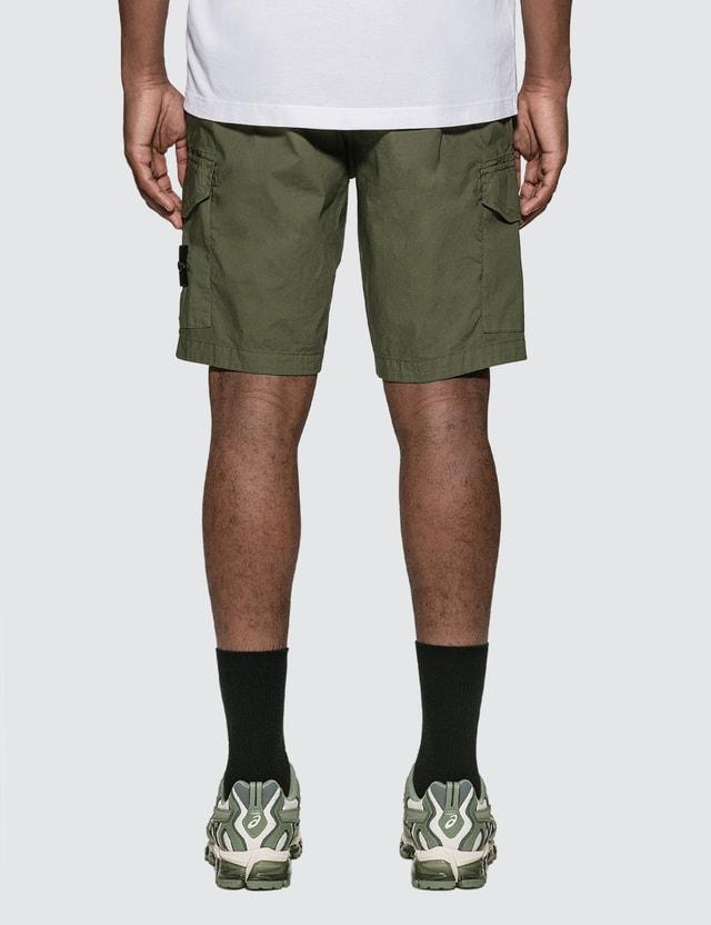 Stone Island Paracadute Cargo Shorts