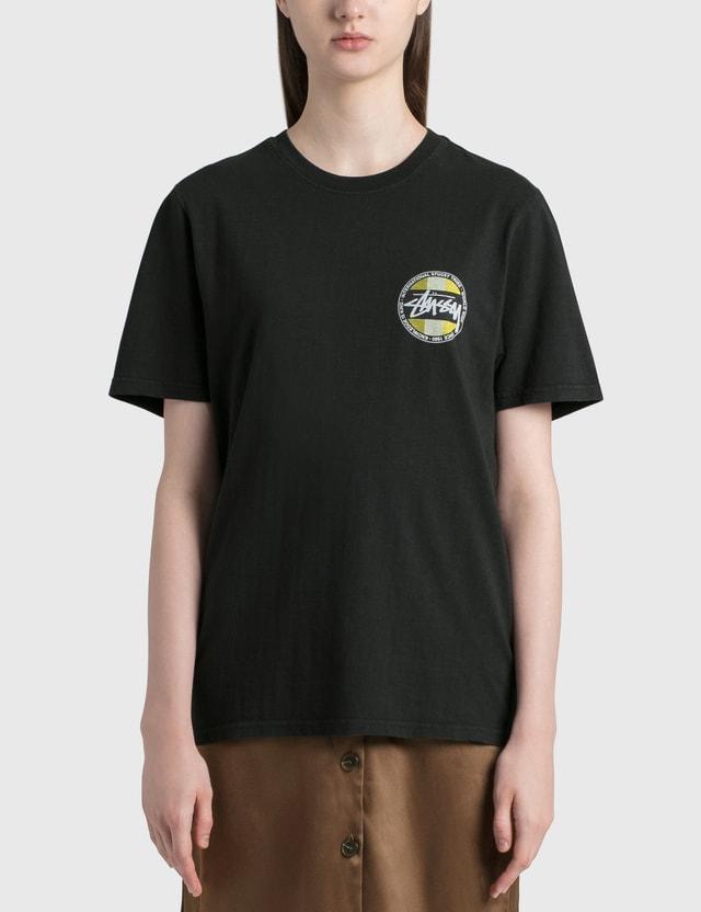Stussy Classic Dot Dyed T-shirt Black Women