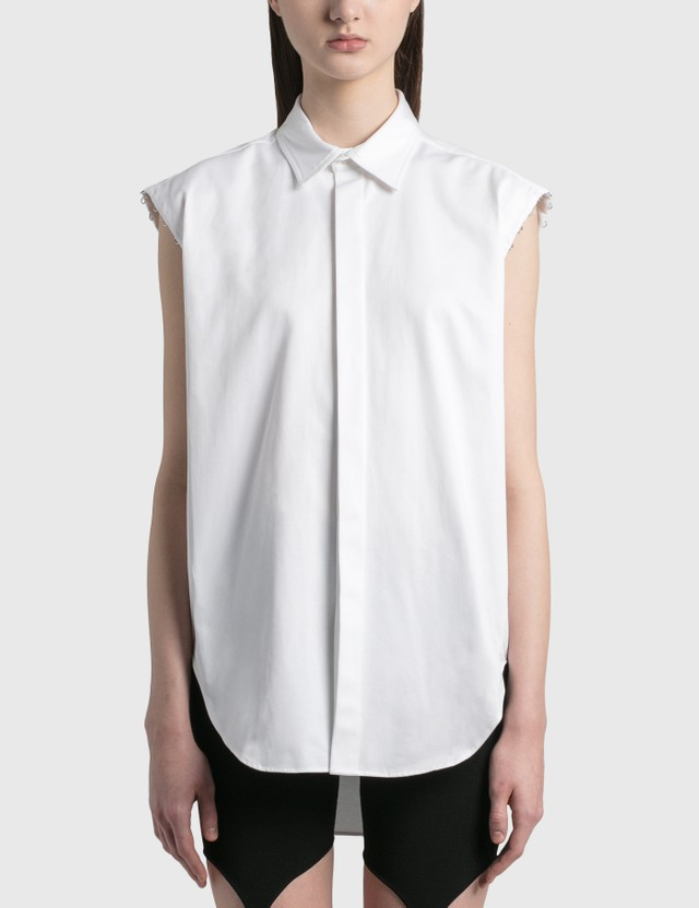Dion Lee Detach Hook Shirt White Women