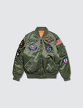 Alpha Industries Youth MA-1 with Patch Picture