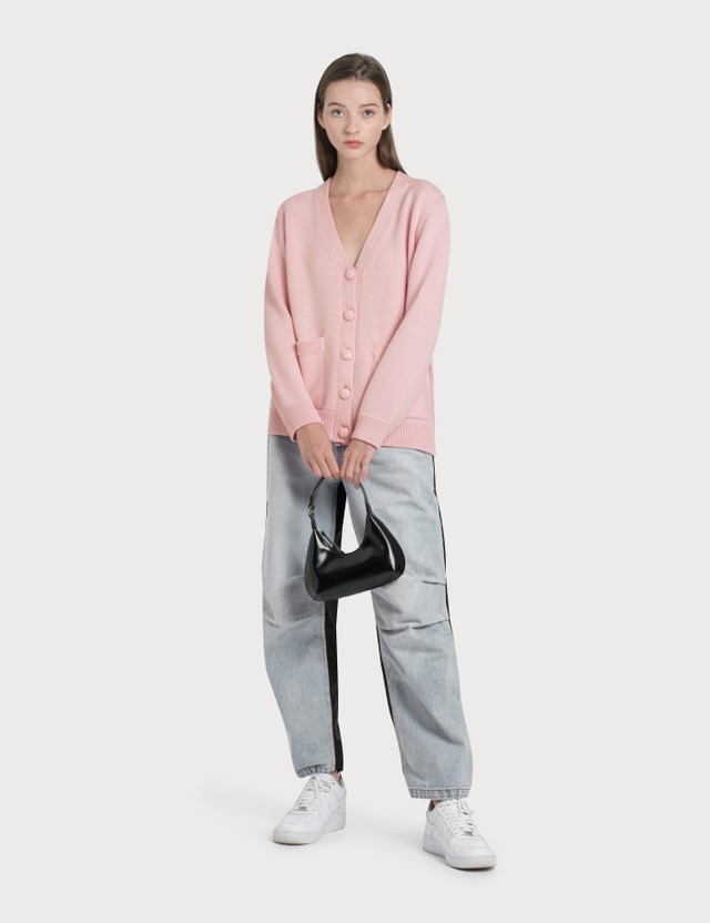Ganni Wool Knit Cardigan