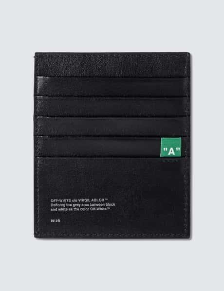 오프화이트 카드 홀더 Off-White Diag Card Holder