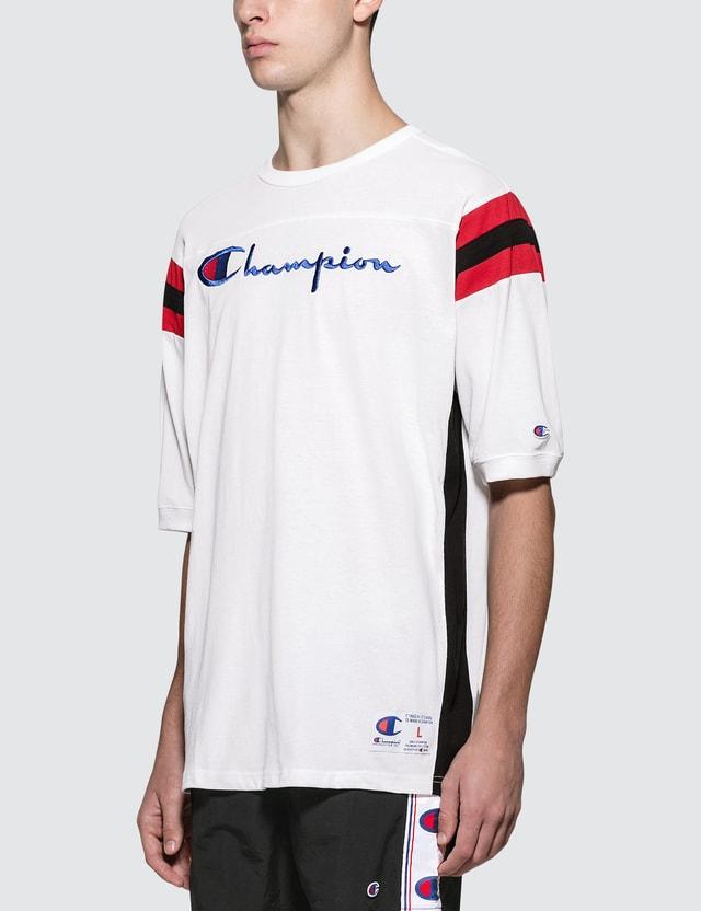 Champion Reverse Weave American Fit Script Logo S/S T-Shirt