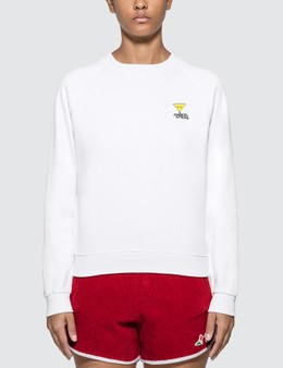 Maison Kitsune Smiley Fox Patch Sweatshirt