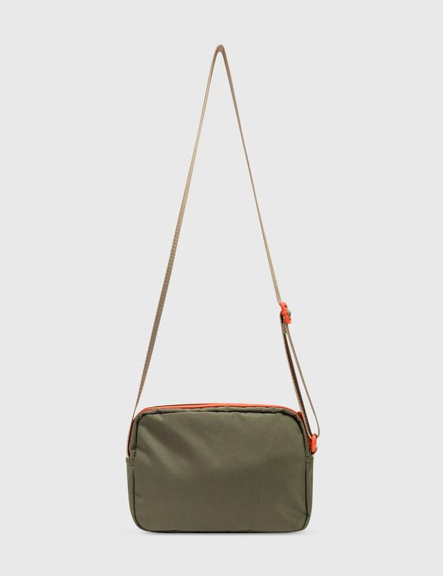 Ganni Seasonal Recycled Tech Crossbody Bag Kalamata  Women
