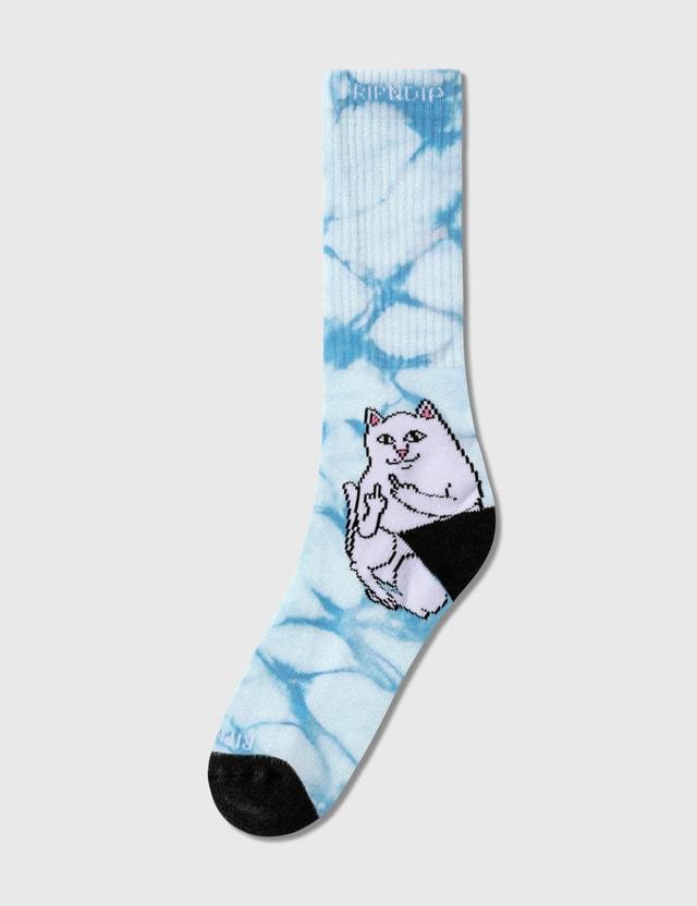 RIPNDIP Lord Nermal Socks Mint Tie Dye Men