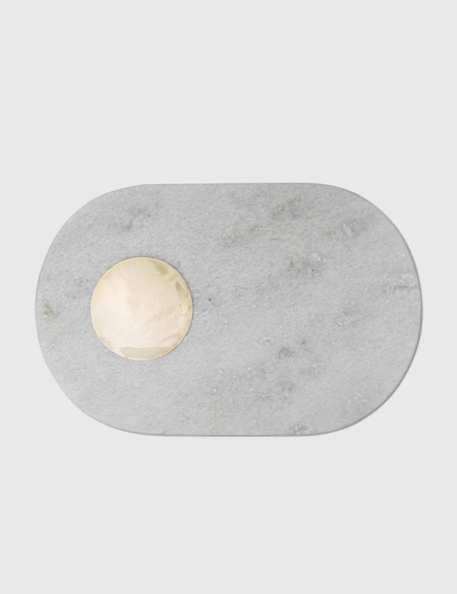Tom Dixon Stone Chopping Board White Unisex