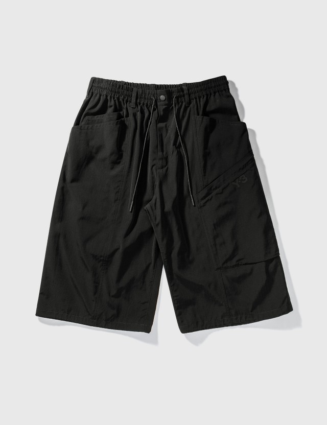 Y-3 Y-3 Classic Light Ripstop Utility Shorts Black Men