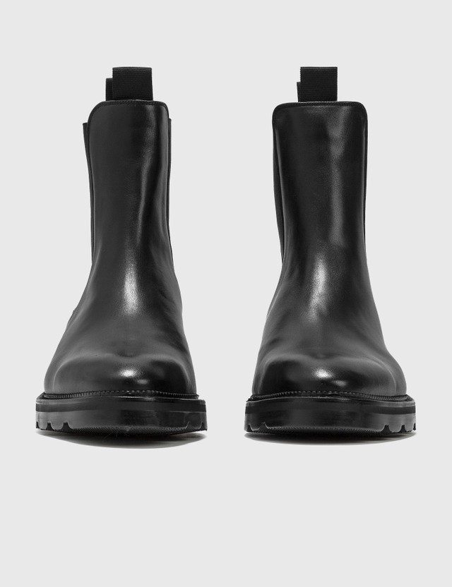 Alexander Wang Andy Black Leather Chelsea Boots Black Women