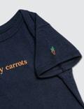 Carrots Baby Carrots Wordmark Onesie Navy Kids
