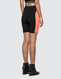 Alexander Wang.T Swim Jersey Biker Short Black/papaya Women