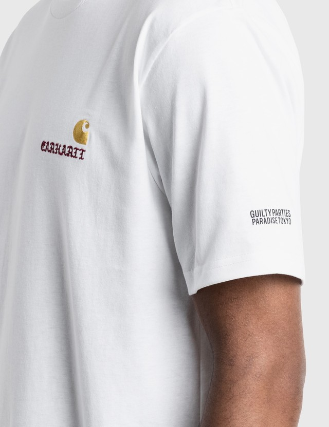 Carhartt Work In Progress Carhartt WIP x Wacko Maria Logo T-Shirt Wacko Maria White Men