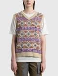 Stussy Giza Sweater Vest Picutre