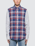Loewe Patchwork Sleeve Check Shirt Picture
