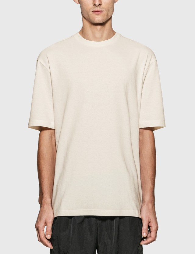 Bottega Veneta Sunrise Cotton T-Shirt 9068-chalk Men