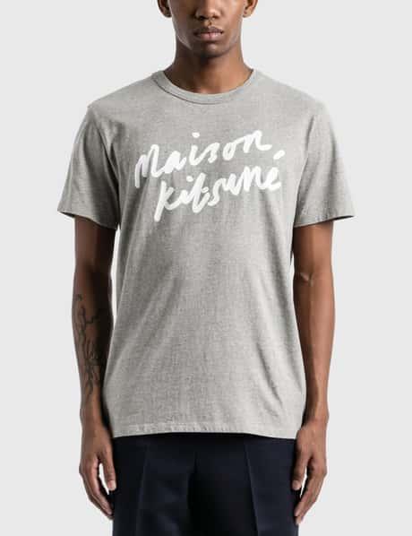 메종 키츠네 Maison Kitsune Handwriting T-Shirt