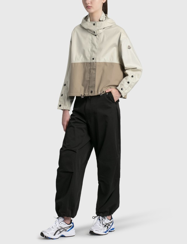 Moncler Baldah 3-layer Cotton Jacket Beige Women