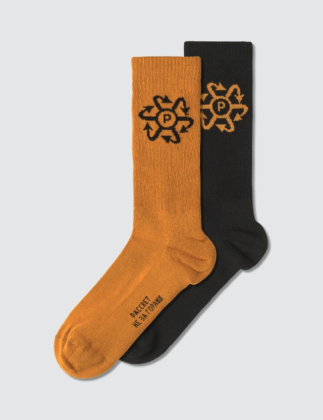 Rassvet Two Tone Jacquard Socks