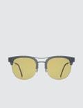 Super By Retrosuperfuture Strada Gold Sunglasses Picture