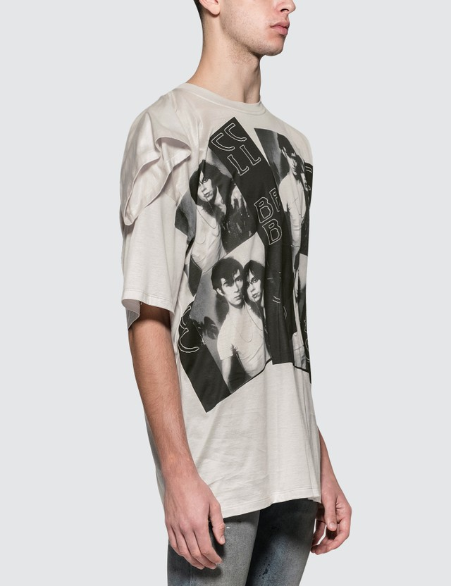 Raf Simons T-Shirt With Displaced Sleeve