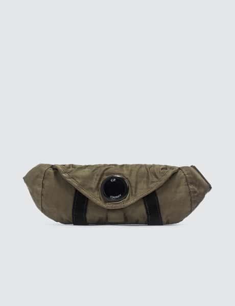 CP 컴퍼니 렌즈 벨트백 CP Company Nylon Satin Lens Waist Bag
