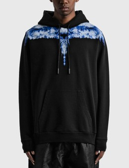 Marcelo Burlon Light Blue Wings Hoodie