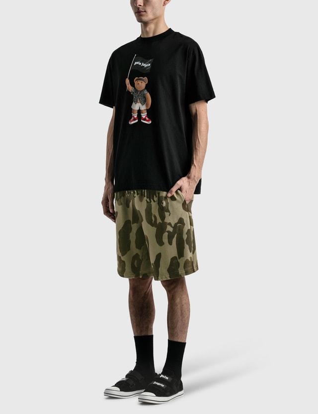 Palm Angels Pirate Bear Loose T-shirt Black Men