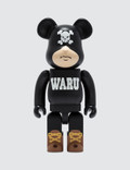 Medicom Toy 400% Tokyo Tribe Waru Be@rbrick (ver. Black) Picture