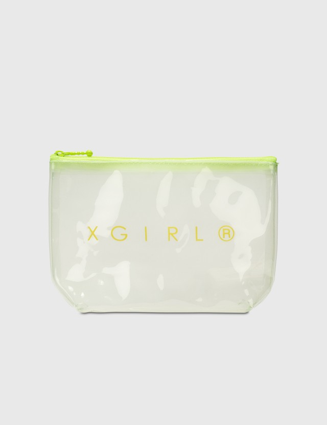 X-Girl Pvc Clear Pouch Clear Women