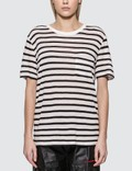 Alexander Wang.T Classic Striped Slub Jersey T-shirt Picture