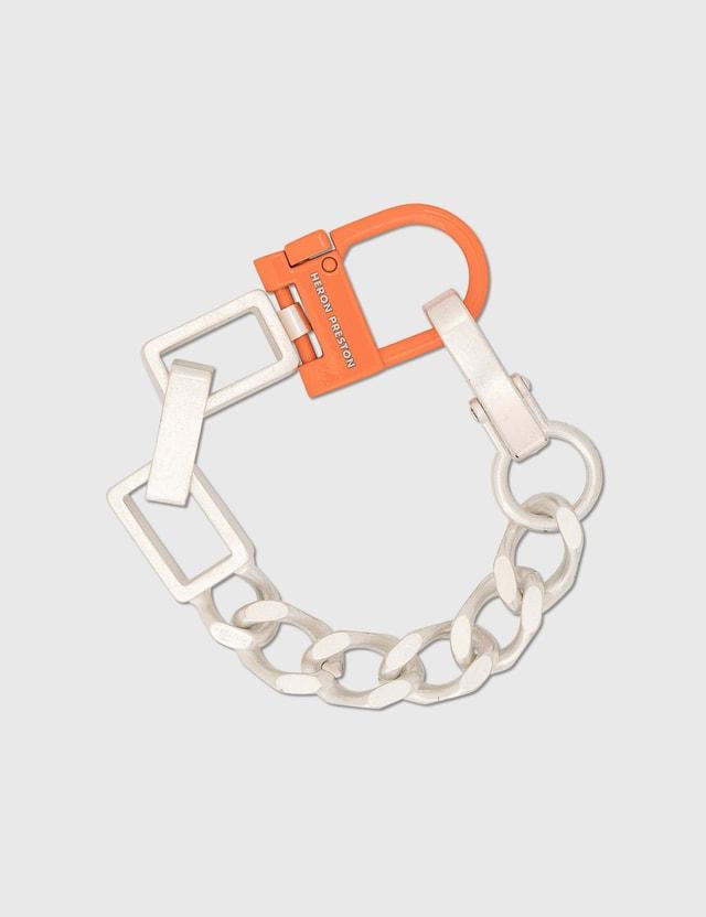 Heron Preston Multichain Bracelet Silver  Men