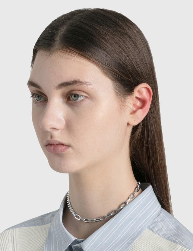 Justine Clenquet Hari Choker Silver Women