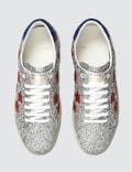 Saint Laurent Court Classic SL/06 Metallic California Leather Sneaker Silver  Men