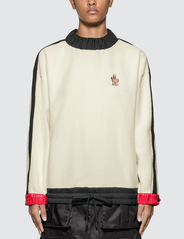 Moncler Grenoble Logo Fleece Sweatshirt