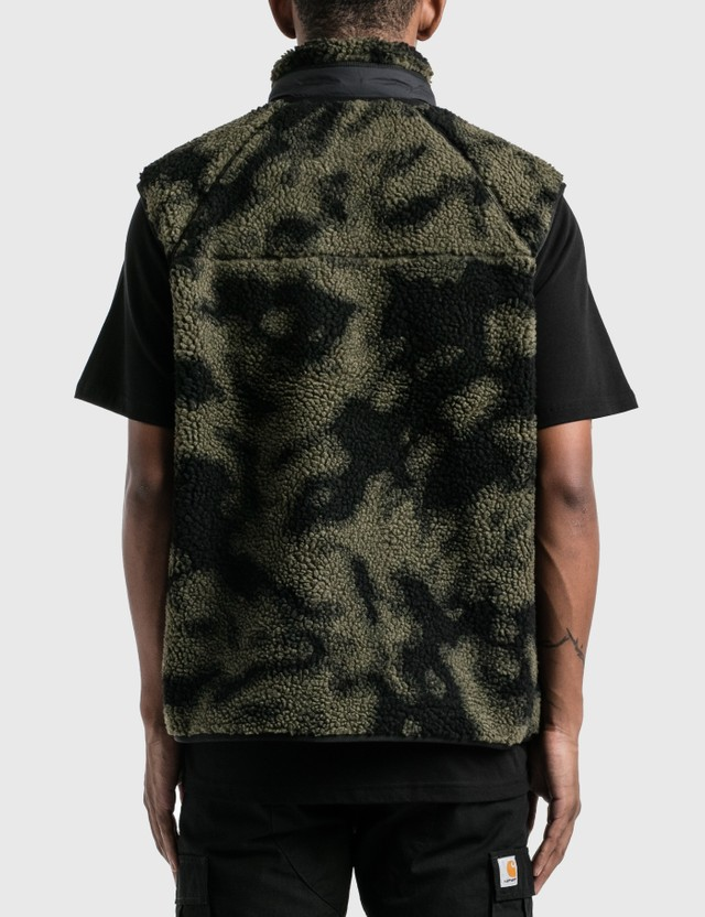 Carhartt Work In Progress Prentis Vest Liner Camo Blur, Green Men