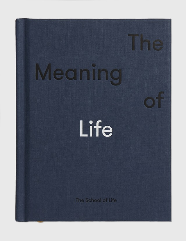 The School of Life The Meaning Of Life N/a Life