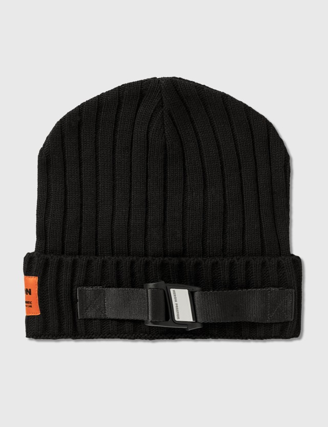 Heron Preston Buckle Beanie