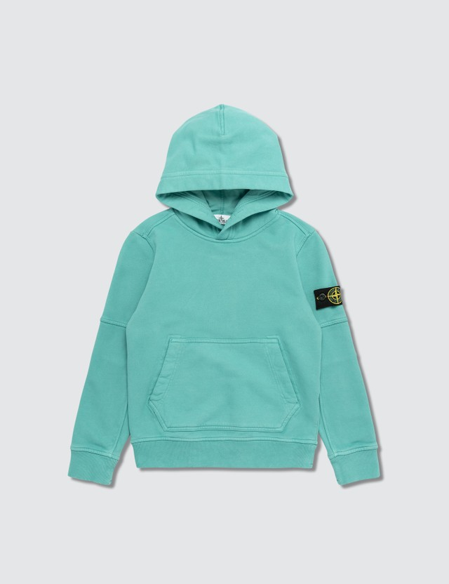 Stone Island Compass Logo Patch Hoodie (Infants)