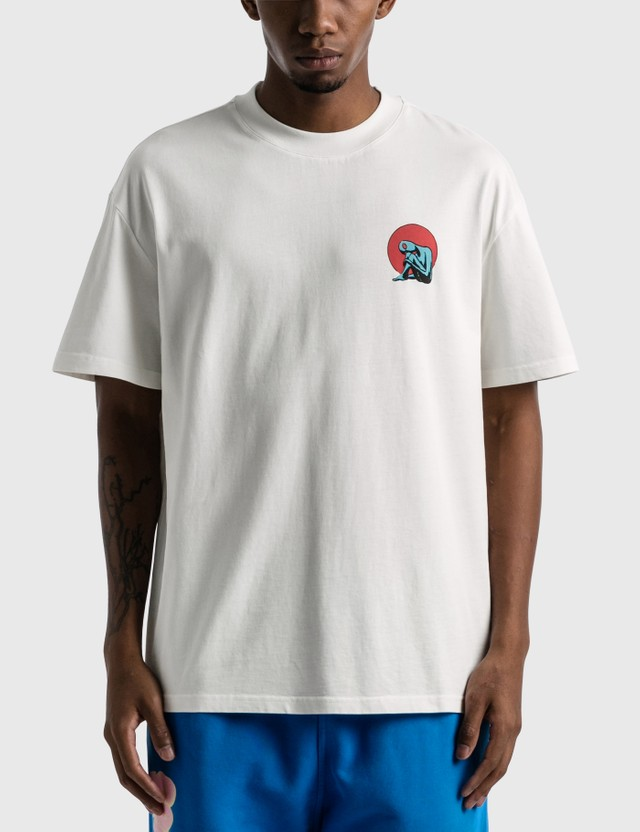 Earthling Collective Visitor Oversize T-shirt White Men