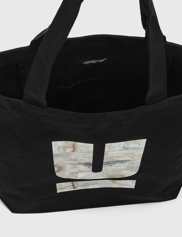 Undercover 30th Anniversary U Logo Tote Bag Black Unisex