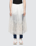 Stella McCartney Silk Lace Skirt 사진