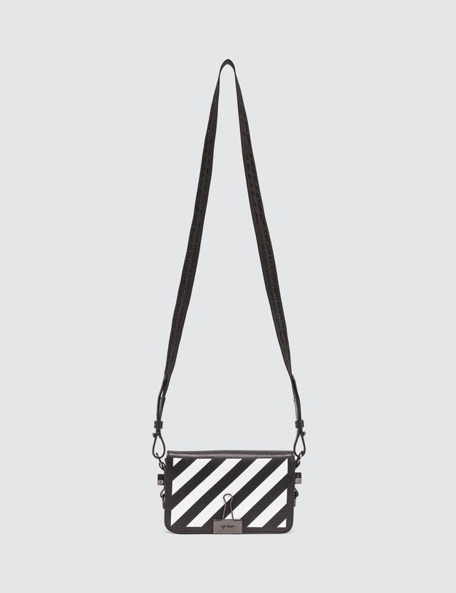 Off-White Diag Mini Flap Crossbody Bag