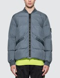 Stone Island Crinkle Reps NY Down Bomber Jacket Picture