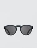 Super By Retrosuperfuture Duo-lens Paloma Silver & Black Sunglasses Picture