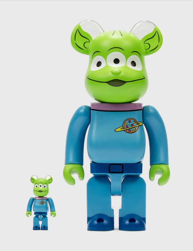 Medicom Toy Be@rbrick Alien 100%&400% Set