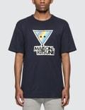 Maison Kitsune Rainbow Triangle Fox Print T-shirt Picutre