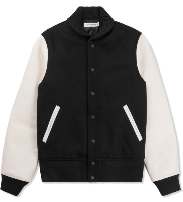 Head Porter Plus - Black Varsity Jacket  bfa698d511537