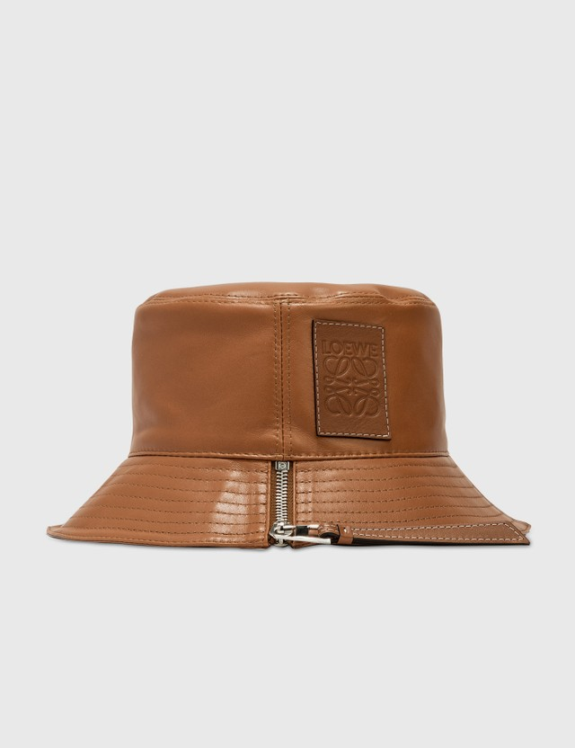 Loewe Nappa Calfskin Fisherman Hat Tan Women